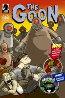 The Goon - Issue 12 Cover by TheFool432
