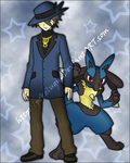 ..::Riley And Lucario::.. by pokelugia