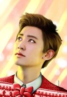 Xmas Chanyeol by RollingAlien