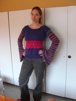 Molly Weasley jumper by PadfootsMemories