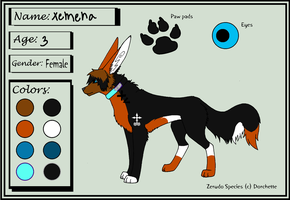 Xemera ref by BleachTheNight