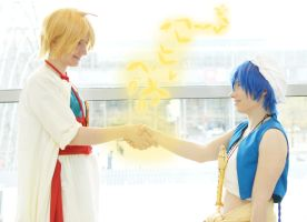 Be my friend (Magi Cosplay) by Stray-Cat-Yoru