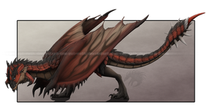 Rathalos by Gul-reth
