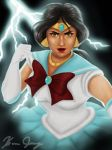 Sailor Scout Princess Jasmine by TheJasminator