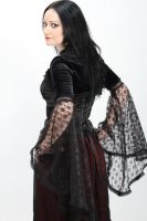 Gothic fashion by Lionel Palfray by Eve-VelvetRose