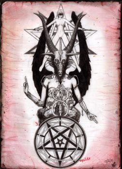 The Baphomet by pornosatan69