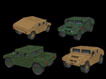Pixel Style Hummer by DartP