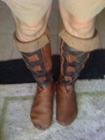 Handmade Leather Boots by connerchristopher