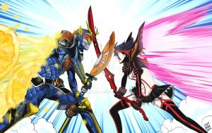 Kamen Rider clash by dokinana