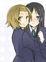 Ritsu and Mio. by llLilith