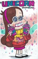 Mabel Pines Unicorn Frap - justDEF [FanArt] by Just-Def