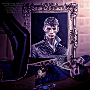 Dishonored 2: The Outsider and Emily Kaldwin by TalosRules