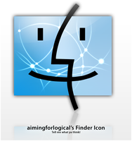 WIP Finder Icon - .Mac style by aimingforlogical