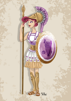 Historic Meg - Disney Warrior Princess by Pelycosaur24