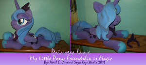 Custom princess Luna Plush by Soyo-Kaze-Studio