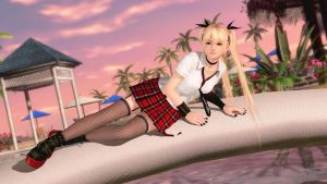DEAD OR ALIVE Xtreme 3: Marie Rose (Crimson Punk) by Choshinsei-chan