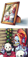 Undertale: With Love, from Snowdin by Candy-DanteL