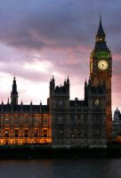 london big ben by maleica