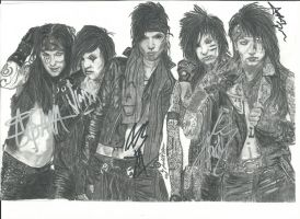 Black veil Brides Nr. 9 updated by xxdaswarwohlnix