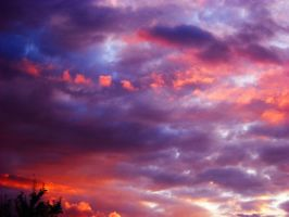 Stock Sunset Clouds by fcuckov