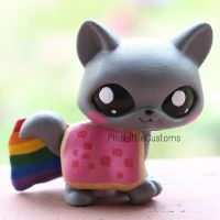Nyan Cat LPS custom by pia-chu
