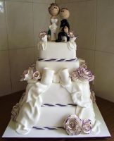 Tristan And Sharon's Wedding Cake 001 by elyobkram
