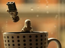 Snow Troopers - Coffee Excess by mckatalyn