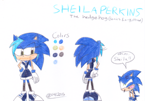 Sheila Perkins (Sonic's Ex-Girlfriend) by sonic4ever760