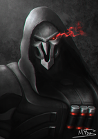 Reaper fan art by Kreetak
