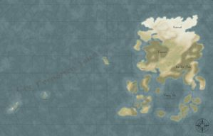 Map of Akavir NO BORDERS by DwarfChieftain