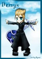 Chibi Demyx: for red1justice by Hyuei