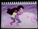 Steven and Connie by joannawentbananas