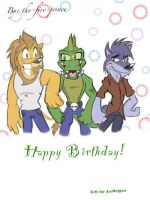 Birthday gift for AxlReigns by the-fire-prince