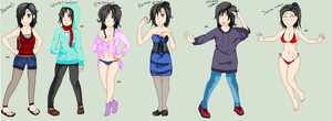 Different Clothes Types by Nami-san13