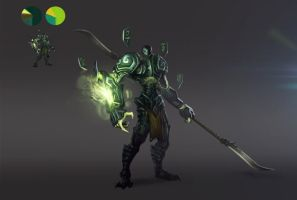 Dota Hero Concept by EsbenLash