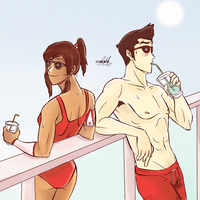 Lifeguards! by artist-omako