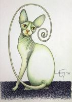 Sketchbook 01 Sphynx by Jose-Garel-Alvoeiro