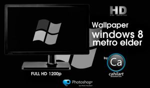 Windows 8 Metro Elder by CaHilART