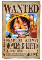 Luffy wanted by juju67