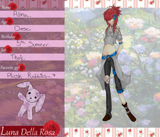 Luna Della Rosa - Application by J1enX