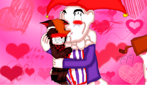 MexDer Klown~ Happy Valentines Day~ by Toothshy11