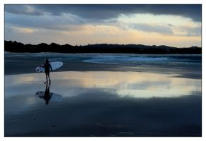 The Pass, Byron Bay - sunset 7 by wildplaces