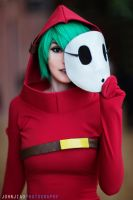 Shy Guy genderbend cosplay 1 by JohnJiaoPhotography