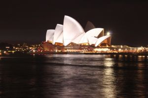 Sydney Opera House - Vivid Sydney by snowqueen135