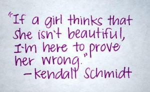 a Kendall Schmidt quote Reason why I love him by writingpoetryforlife