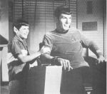 Spock and Son by ChloeTheFox