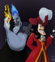 Hades and Hook by Groovy-Gecko