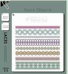 Object Pack - Laces by MouritsaDA-Stock