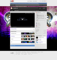 YouTube background by sautdie