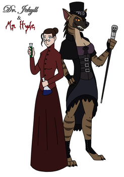 Monster Makeovers - Dr. Jekyll and Mr. Hyde by HewyToonmore